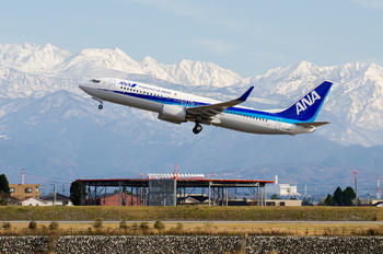 JA52AN - ANA - All Nippon Airways Boeing 737-800