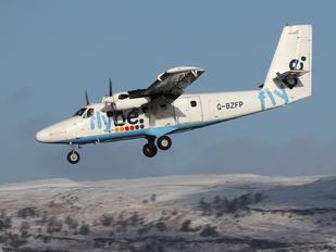 G-BZFP - FlyBe - Loganair de Havilland Canada DHC-6 Twin Otter