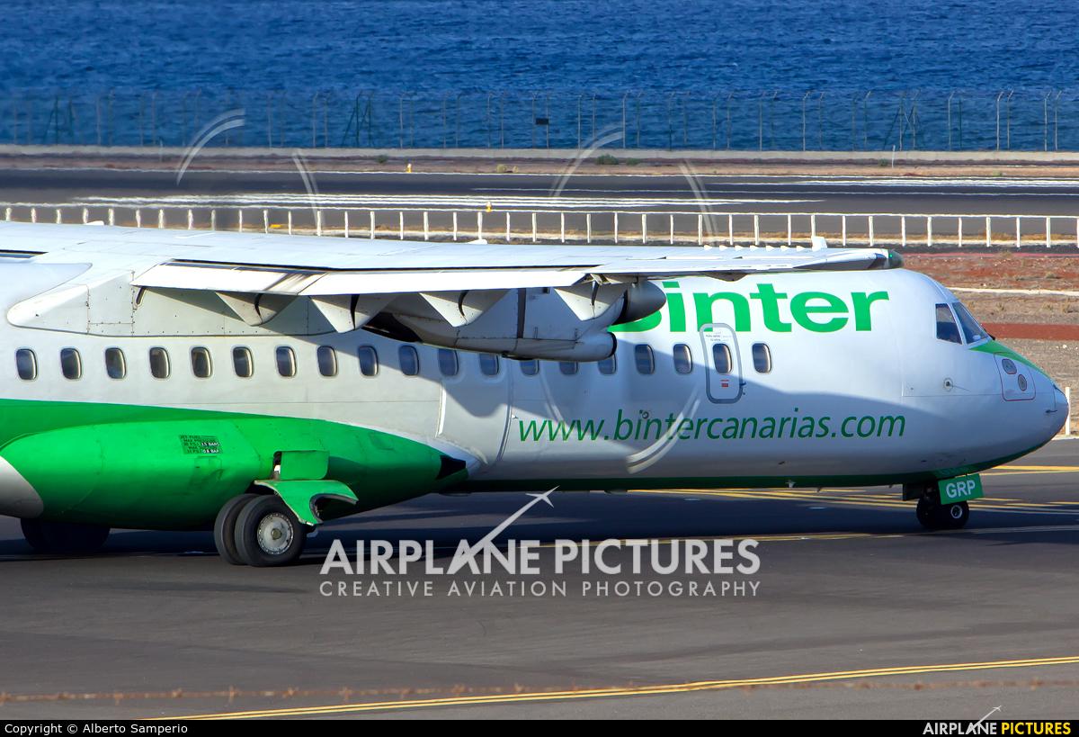 Binter Canarias EC-GRP aircraft at Lanzarote - Arrecife