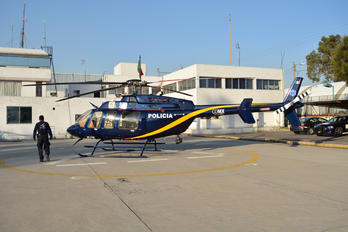 XC-LOG - Mexico - Police Bell 407 GT