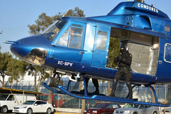XC-SPV - Mexico - Police Bell 412