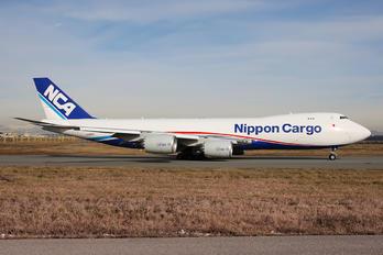 JA16KZ - Nippon Cargo Airlines Boeing 747-8F