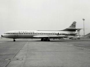 OY-STM - Sterling Sud Aviation SE-210 Caravelle