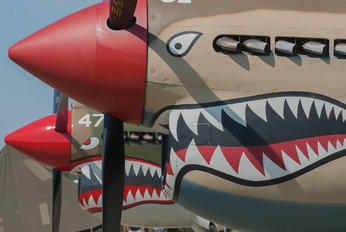 N4420M - Private Curtiss P-40E Warhawk