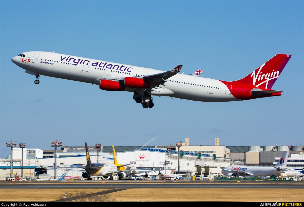 Virgin Atlantic ends Narita-London