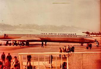 YU-AJZ - Inex-Adria Airways McDonnell Douglas DC-9