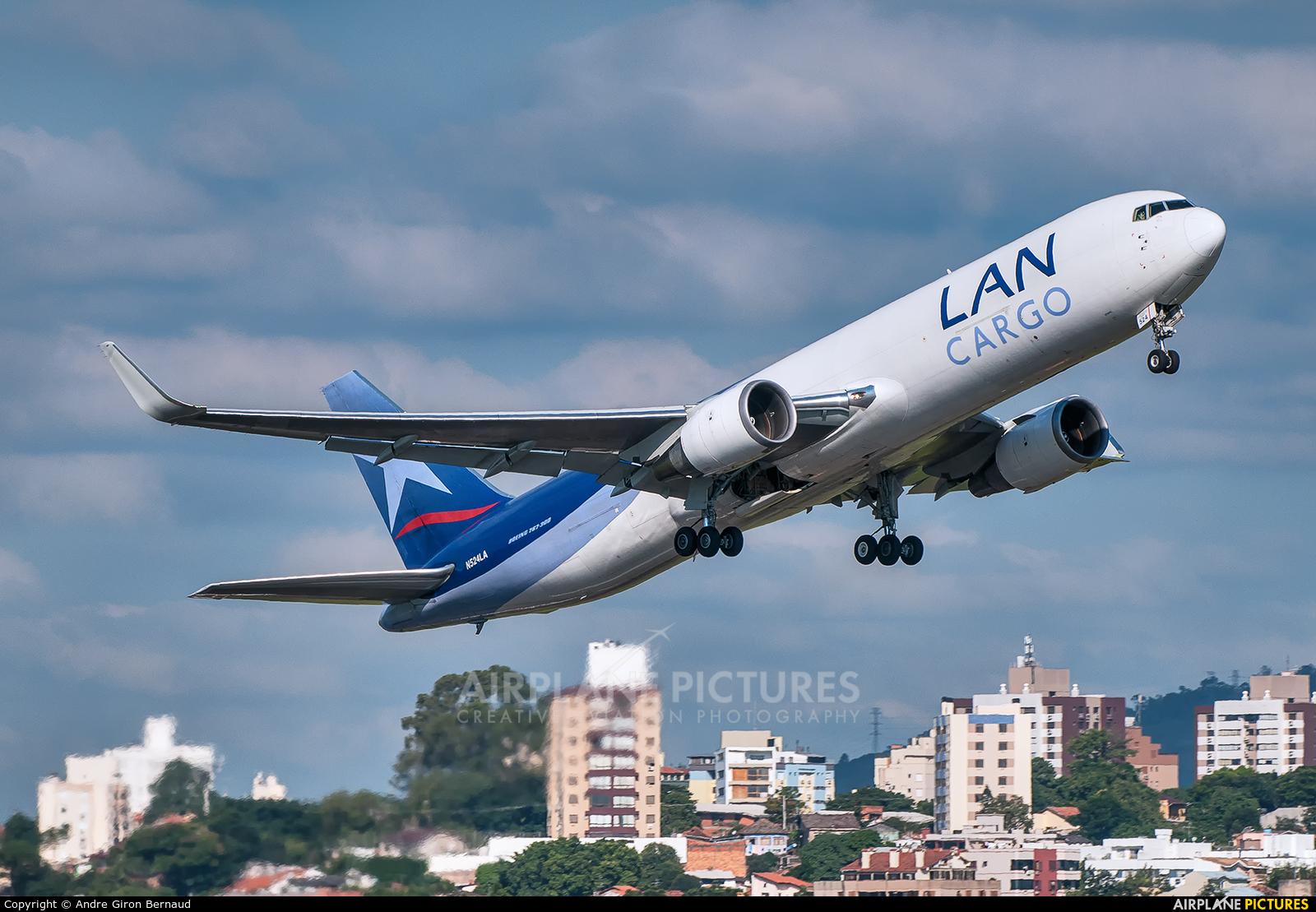 LAN Cargo N524LA aircraft at Porto Alegre - Salgado Filho