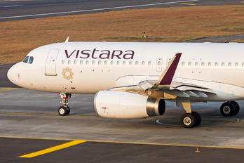 VT-TTF - Vistara Airbus A320