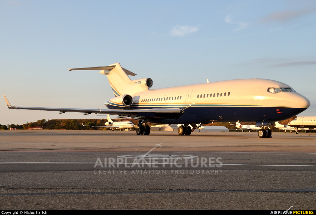 Private VP-BAP aircraft at Palma de Mallorca