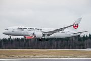 JA835J - JAL - Japan Airlines Boeing 787-8 Dreamliner aircraft