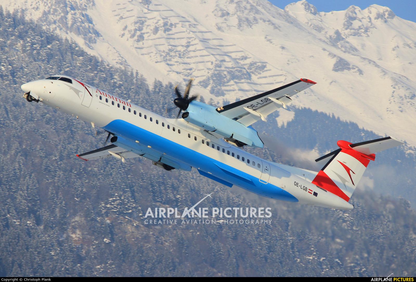 Austrian Airlines/Arrows/Tyrolean OE-LGB aircraft at Innsbruck