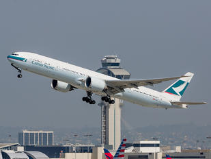 B-KPJ - Cathay Pacific Boeing 777-300ER