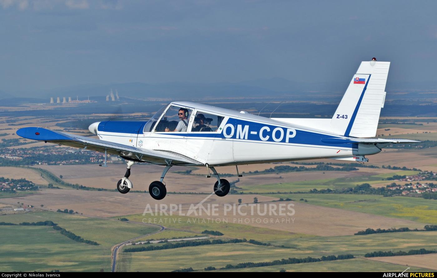 Aeroklub Nové Zámky OM-COP aircraft at Nové Zámky