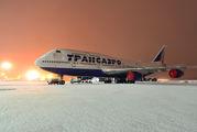 EI-XLJ - Transaero Airlines Boeing 747-400 aircraft