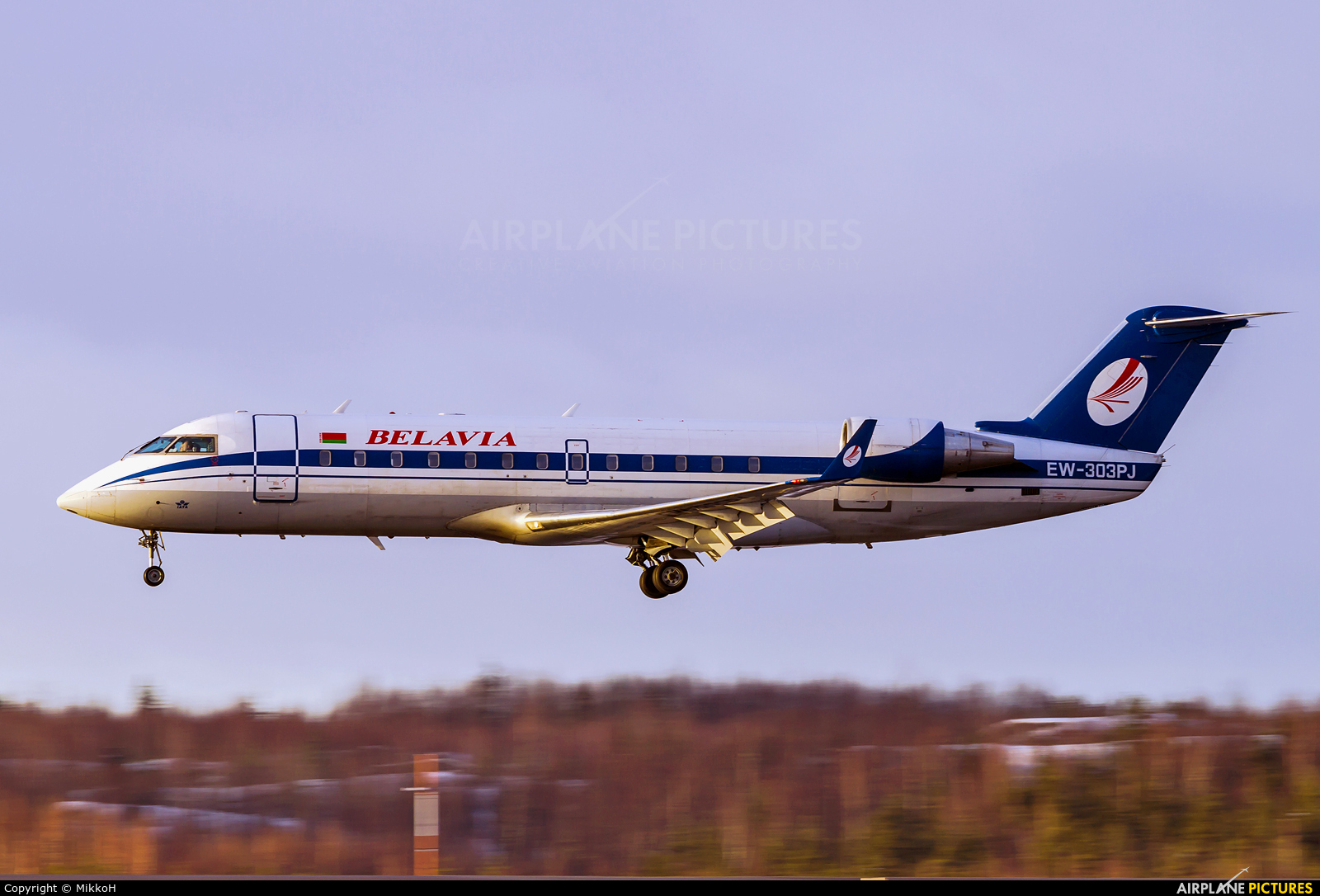 Belavia EW-303PJ aircraft at Helsinki - Vantaa