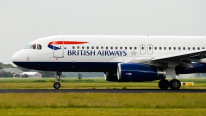 G-EUYO - British Airways Airbus A320