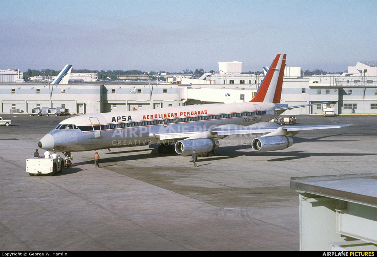OB-R-765 - Convair CV-990 Coronado at Miami Intl | Photo ...