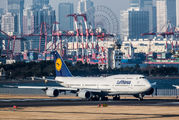 D-ABYO - Lufthansa Boeing 747-8 aircraft