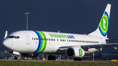 PH-HSJ - Transavia Boeing 737-800