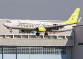 JA802X - Solaseed Air - Skynet Asia Airways Boeing 737-800 aircraft