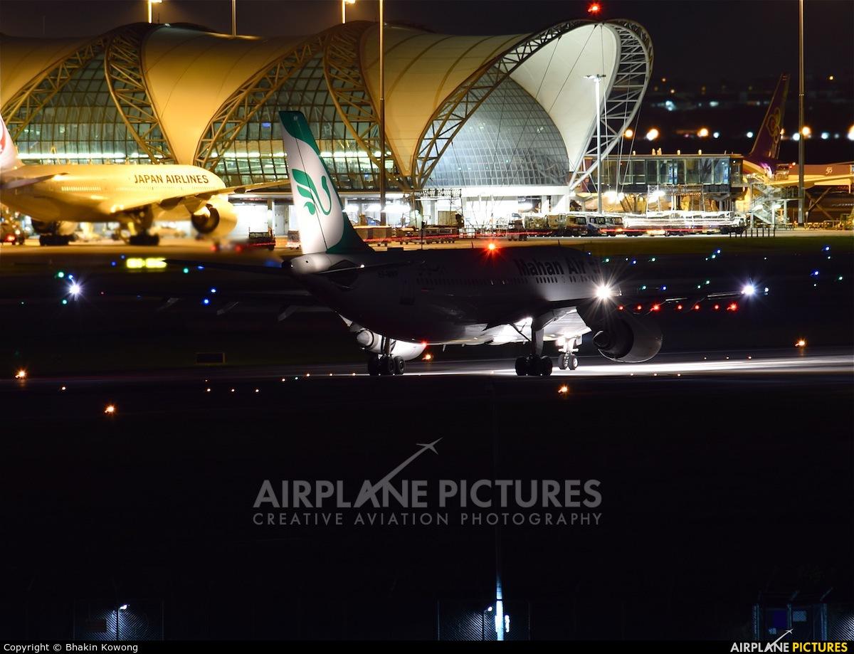 Mahan Air EP-MNP aircraft at Bangkok - Suvarnabhumi