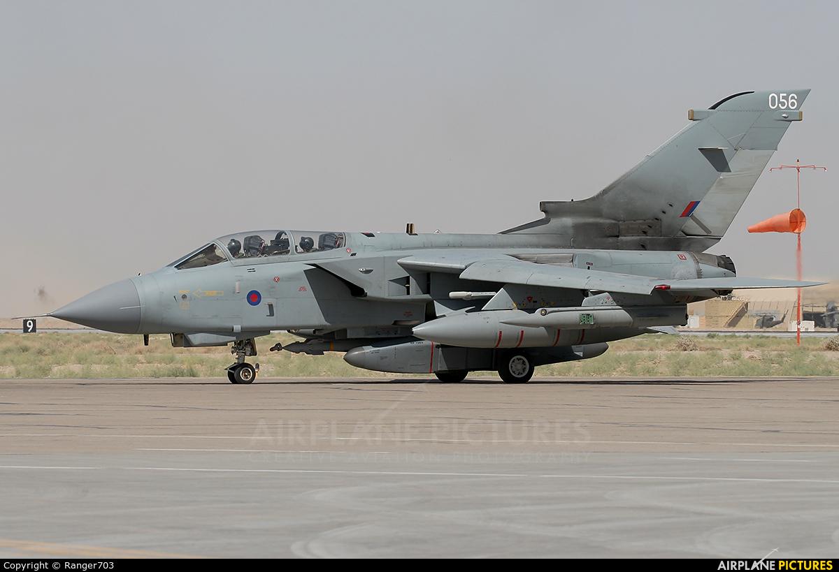 Royal Air Force ZA588 aircraft at Kandahar