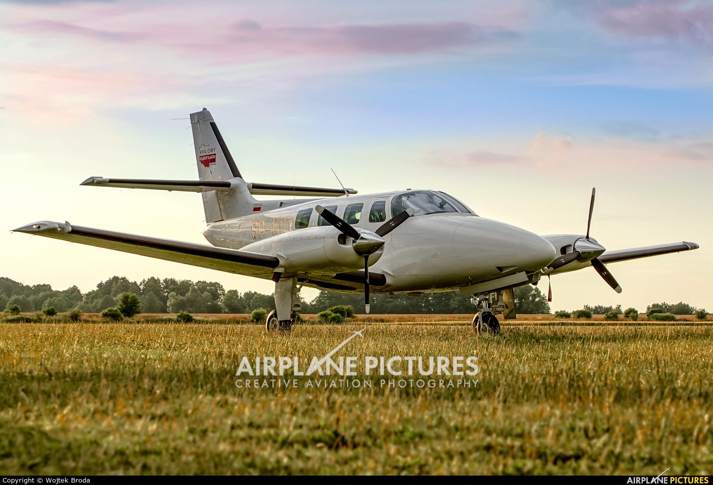 Private SP-KKT aircraft at Wrocław - Szymanów