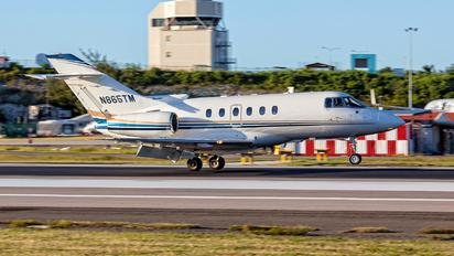 N865TM - Private Raytheon Hawker 800XP