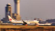 JA337J - JAL - Express Boeing 737-800 aircraft
