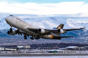 N573UP - UPS - United Parcel Service Boeing 747-400F, ERF
