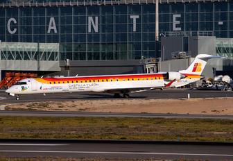 EC-LJS - Air Nostrum - Iberia Regional Canadair CL-600 CRJ-1000