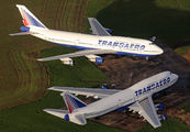 VP-BGY - Transaero Airlines Boeing 747-300 aircraft