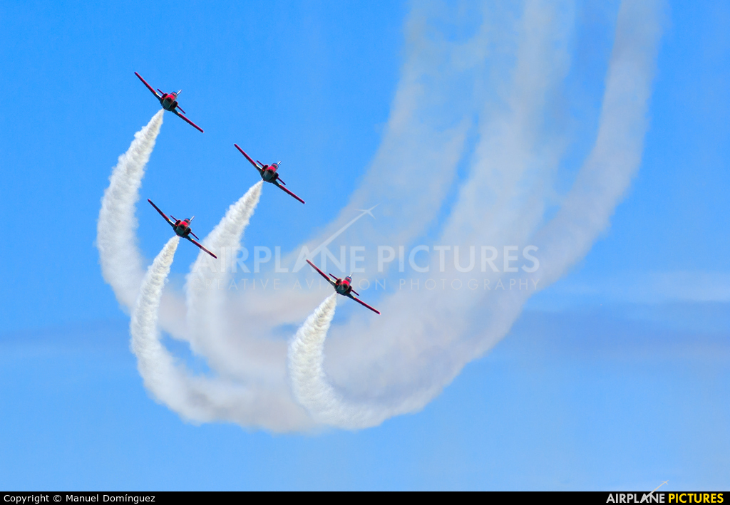Spain - Air Force : Patrulla Aguila - aircraft at Off Airport - Spain