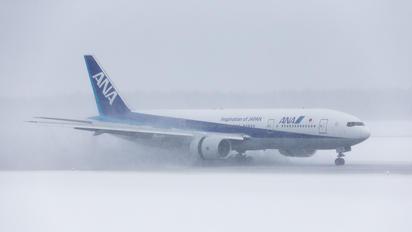 JA744A - ANA - All Nippon Airways Boeing 777-200ER
