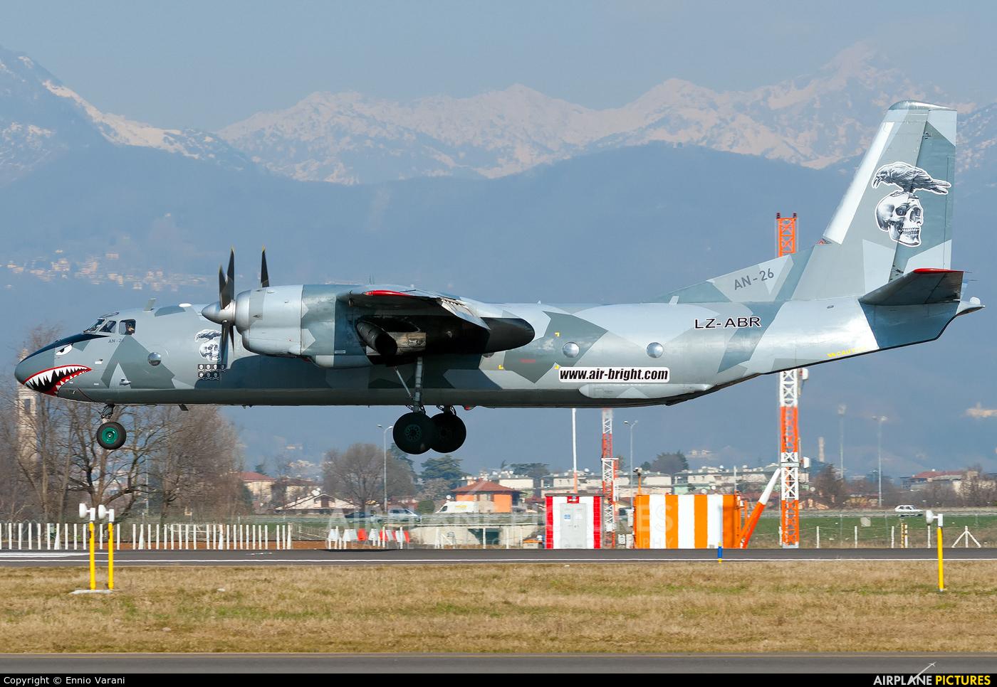AB Shannon LZ-ABR aircraft at Bergamo - Orio al Serio