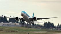 HL8005 - Korean Air Cargo Boeing 777F aircraft