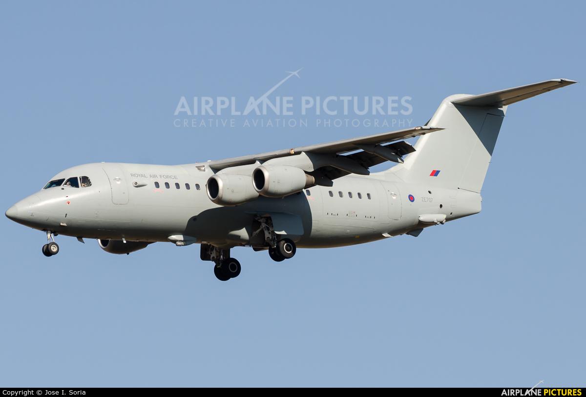 Royal Air Force ZE707 aircraft at Madrid - Torrejon