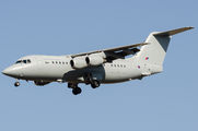 ZE707 - Royal Air Force British Aerospace BAe 146-200/Avro RJ85 aircraft