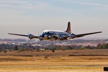 ZS-AUB - South African Airways Historic Flight Douglas DC-4