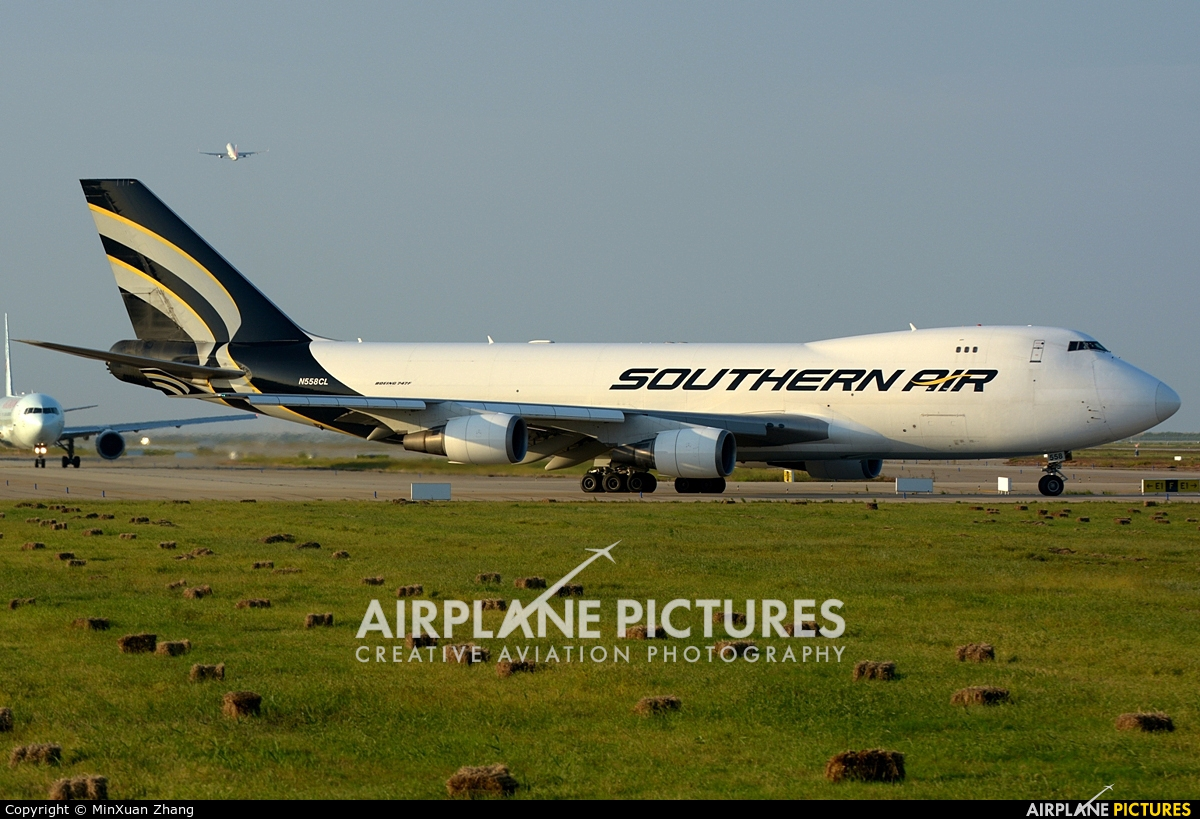 Southern Air Transport N558CL aircraft at Shanghai - Pudong Intl