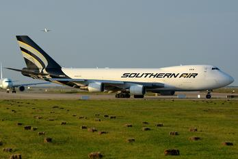 N558CL - Southern Air Transport Boeing 747-400F, ERF
