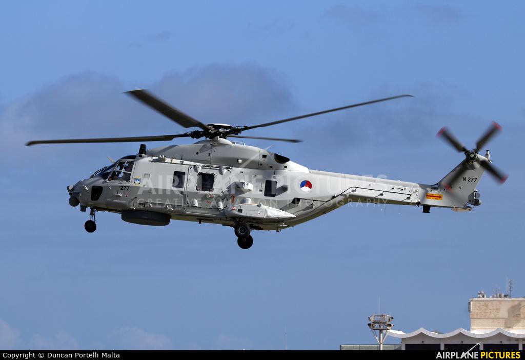 Netherlands - Navy N-277 aircraft at Malta Intl