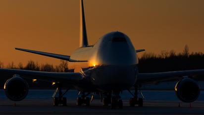 JA15KZ - Nippon Cargo Airlines Boeing 747-8F