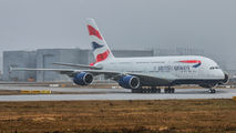 F-WWSB - British Airways Airbus A380 aircraft