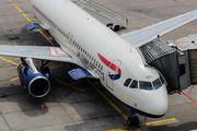 G-EUYL - British Airways Airbus A320 aircraft