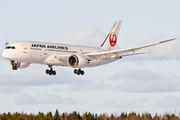 JA825J - JAL - Japan Airlines Boeing 787-8 Dreamliner aircraft