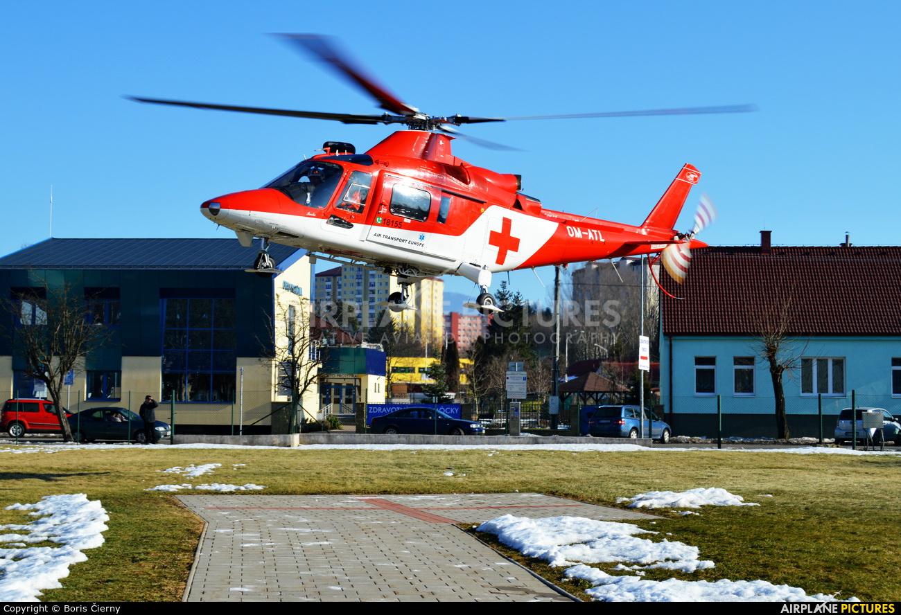 Air Transport Europe OM-ATL aircraft at Off Airport - Slovakia