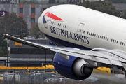 G-STBF - British Airways Boeing 777-300ER aircraft