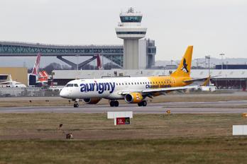 G-NSEY - Aurigny Air Services Embraer ERJ-195 (190-200)
