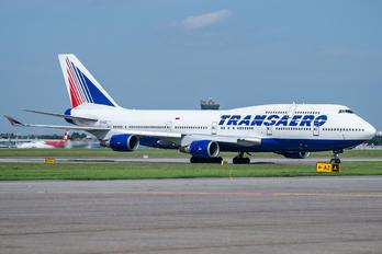 EI-XLD - Transaero Airlines Boeing 747-400